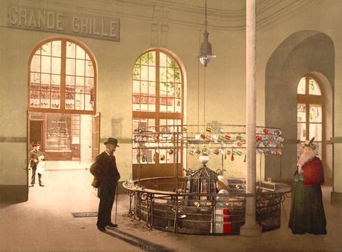 Art Prints of Source de la Grande Grille Drink Hall, Vichy, France (387739)