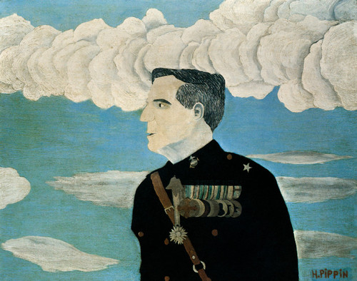 Art Prints of Major General Smedley D. Butler, U.S.M.C. Retired by Horace Pippin
