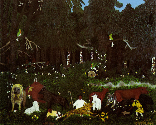 Art Prints of Holy Mountain II by Horace Pippin
