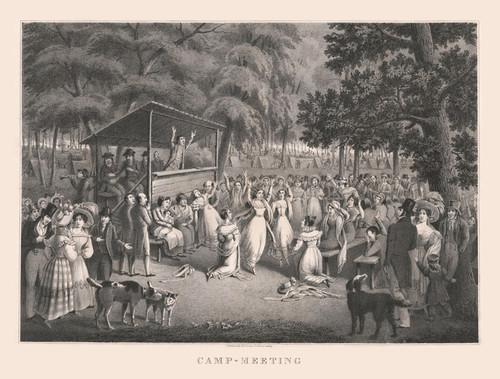 Art Prints of Camp Meeting by Hugh Bridgport & Alexander Rider