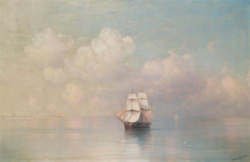 Art Prints of Calm Seas by Ivan Konstantinovich Aivazovsky