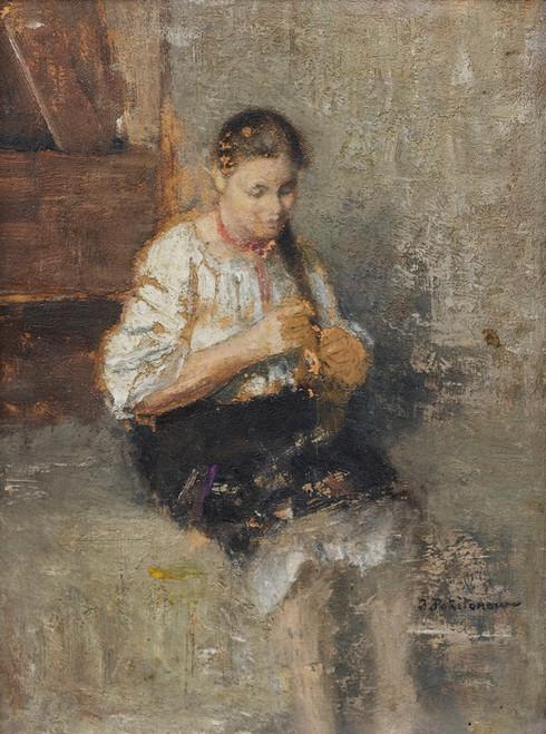 Art Prints of Portrait of Marfoucha by Ivan Pavlovich Pokhitonov