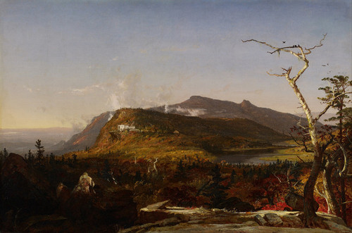 Art Prints of Catskill Mountain House by Jasper Francis Cropsey