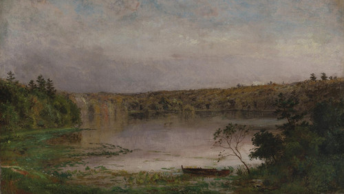 Art Prints of On the Lake by Jasper Francis Cropsey
