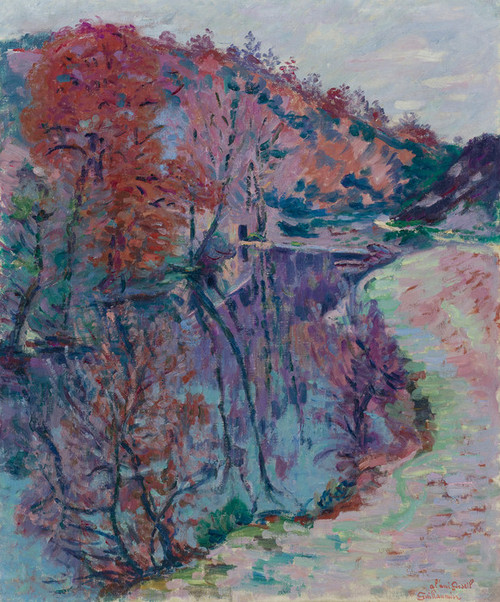 Art Prints of Edges of the Sedelle Crozant by Jean-Baptiste-Armand Guillaumin