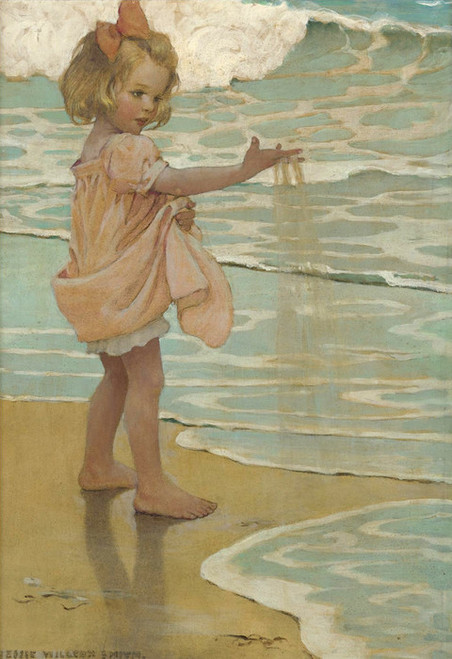 Art Prints of Little Drops of Water by Jessie Willcox Smith