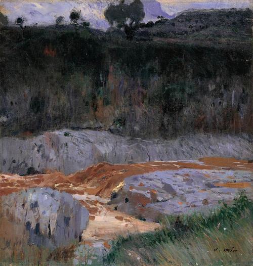 Art Prints of Red Earth by Joaquim Mir