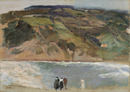 Art Prints of Breakwater at San Sebastian by Joaquin Sorolla y Bastida