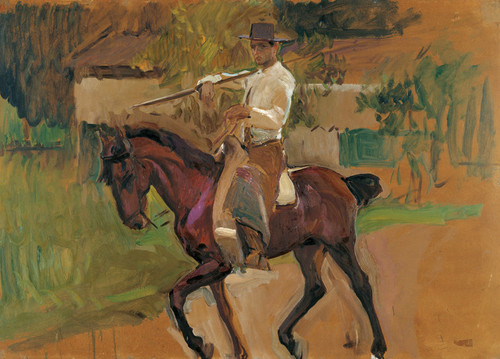 Art Prints of Garrochista by Joaquin Sorolla y Bastida