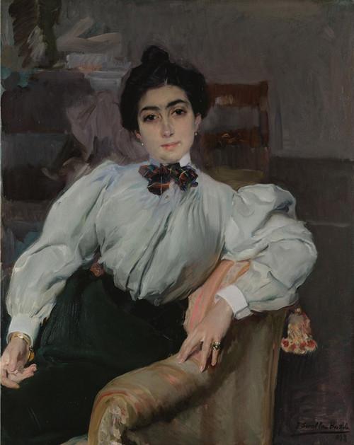 Art Prints of Isabel Herraud de Fernandez Corella by Joaquin Sorolla y Bastida