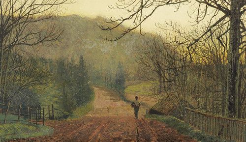 Art Prints of Forge Valley Near Scarborough by John Atkinson Grimshaw
