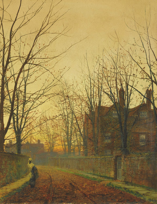 Art Prints of Late October by John Atkinson Grimshaw