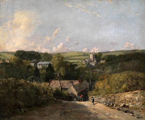 Art Prints of Osmington Village by John Constable