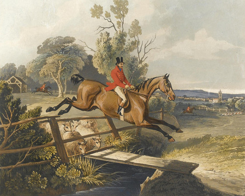 Art Prints of Count Sandor's Exploits in Leicestershire by John Ferneley