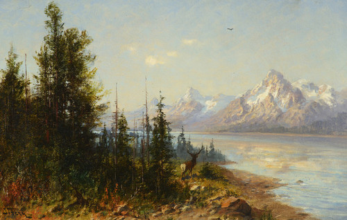 Art Prints of Jackson Lake, Majesty, Wyoming by John Fery