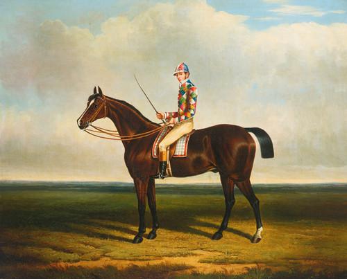 Art Prints of Blacklock with Jockey Up by John Frederick Herring