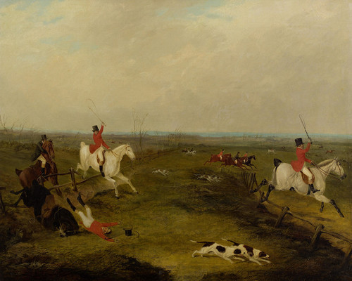 Art Prints of Full Cry, Foxhunting by John Frederick Herring