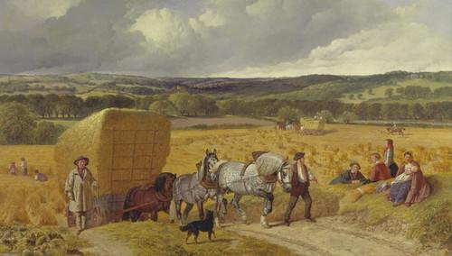 Art Prints of Harvest by John Frederick Herring