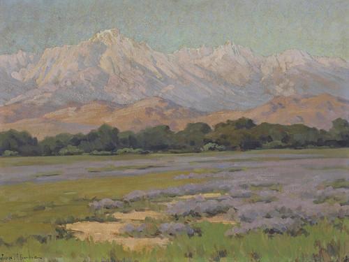 Art Prints of High Sierra from Lone Pine by John Marshall Gamble