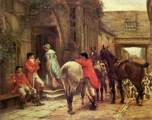 Art Prints of After the Meet by John Sanderson Wells