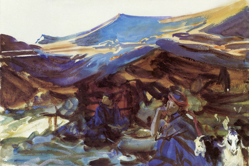 Art Prints of Bedouin by John Singer Sargent