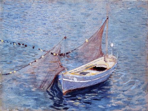 Art Prints of Filet et Barque or Net and Boat by John Singer Sargent