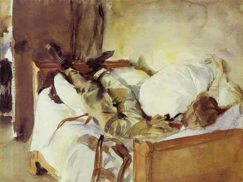 Art Prints of In Switzerland by John Singer Sargent