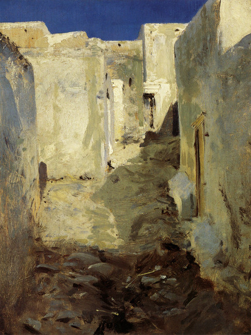 Art Prints of Moroccan Street by John Singer Sargent