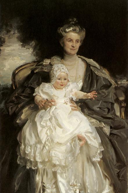 Art Prints of Mrs. Henry Phipps and her Grandson Winston by John Singer Sargent
