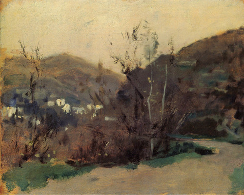 Art Prints of Spanish or Moroccan Landscape by John Singer Sargent