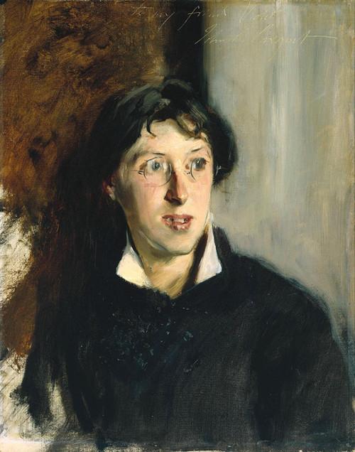 Art Prints of Portrait of Vernon Lee by John Singer Sargent