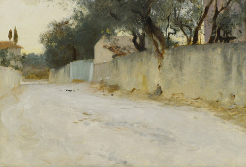 Art Prints of A Road in the South by John Singer Sargent