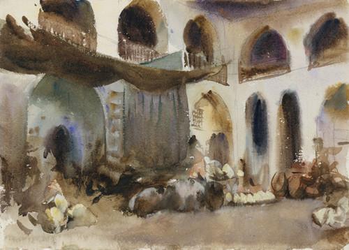 Art Prints of Marketplace by John Singer Sargent
