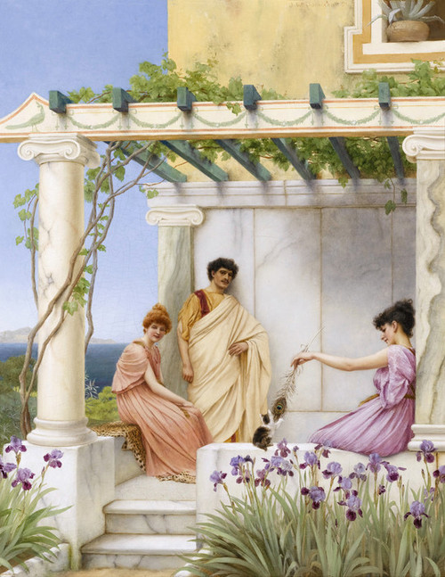 Art Prints of Playtime by John William Godward