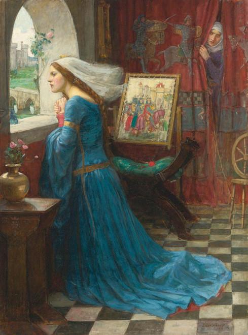 Art Prints of Fair Rosamund by John William Waterhouse