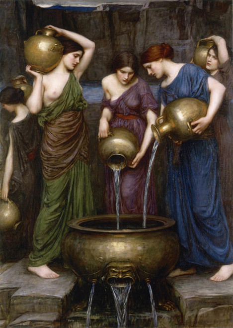 Art Prints of Danaides by John William Waterhouse