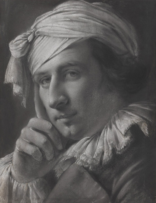 Art Prints of Portrait of a Man by Joseph Wright of Derby