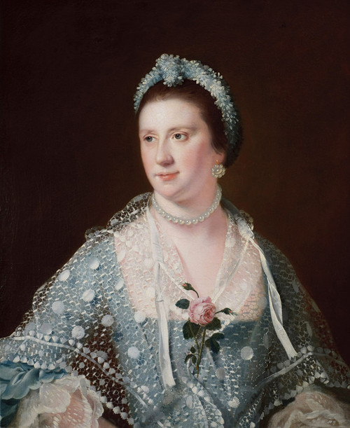 Art Prints of Portrait of the Hon. Mrs. Boyle by Joseph Wright of Derby