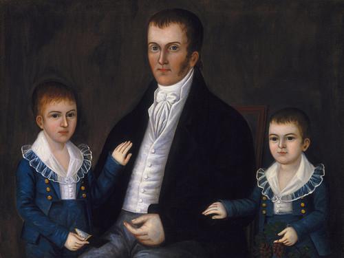 Art Prints of John Jacob Anderson and Sons John and Edward by Joshua Johnson