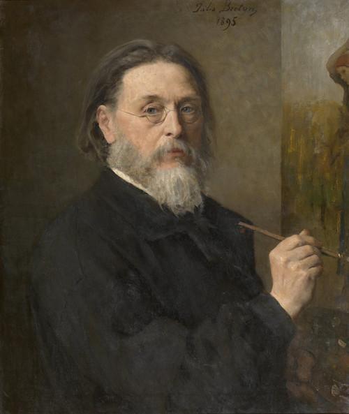 Art Prints of Self Portrait by Jules Breton