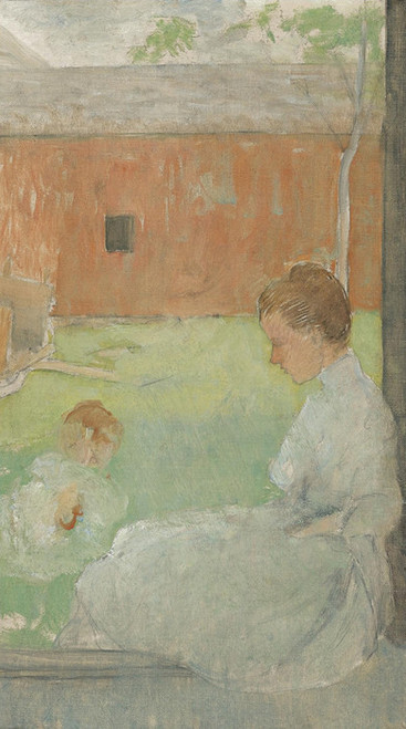 Art Prints of Mother and Child by Julian Alden Weir