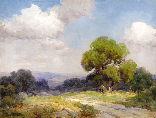 Art Prints of Morning in the Hills, Southwest Texas by Julian Onderdonk