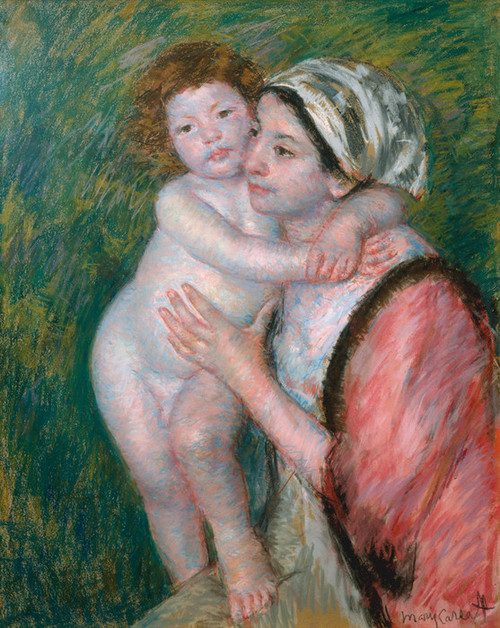 Art Prints of Mother and Child, 1914 by Mary Cassatt