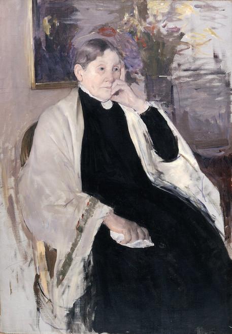 Art Prints of Mrs. Robert S. Cassatt, the Artist's Mother by Mary Cassatt