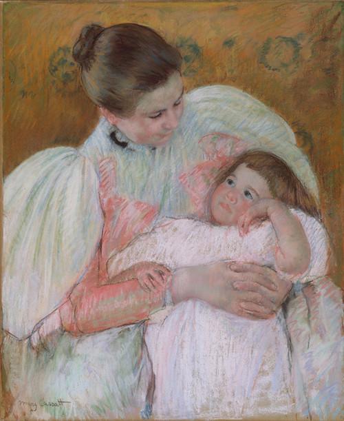 Art Prints of Nurse and Child, 1896 by Mary Cassatt