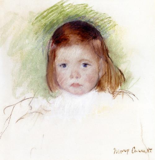 Art Prints of Portrait of Ellen Mary Cassatt by Mary Cassatt