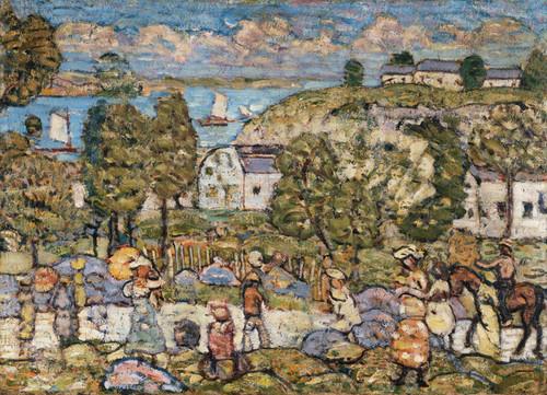 Art Prints of Landscape near Nahant by Maurice Prendergast