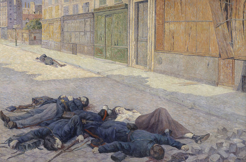 Art Prints of Paris Street, May 1871 by Maximilien Luce