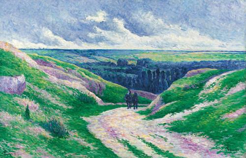 Art Prints of Moulineux Landscape by Maximilien Luce