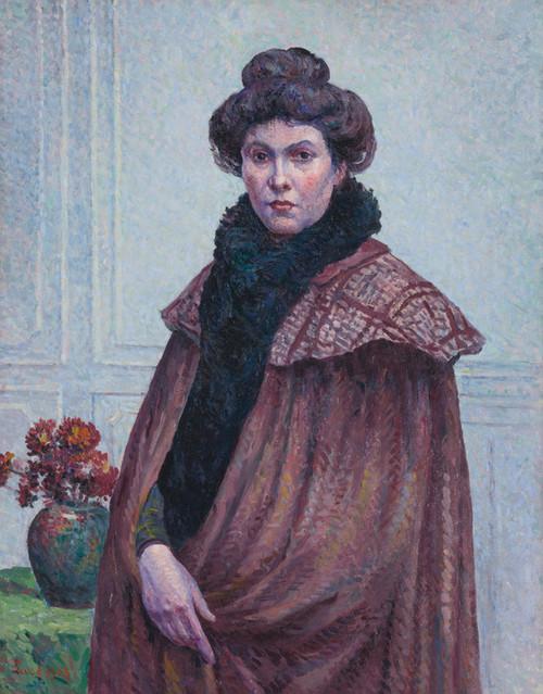Art Prints of Portrait of Madame Luce by Maximilien Luce